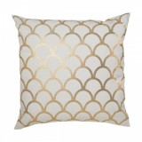 cwd Gold scallop cushion