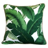 Sq F Green Palm natural piping 1