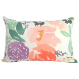Bridge City Blooms lumbar cushion cover