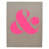 Pink_Ampersand_Print o