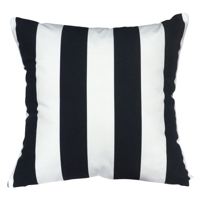 Black And White Striped Cushion Cover Adorn Homewaresadorn Homewares